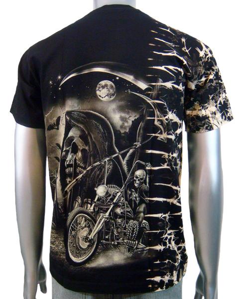 Mens Skeleton Shirt