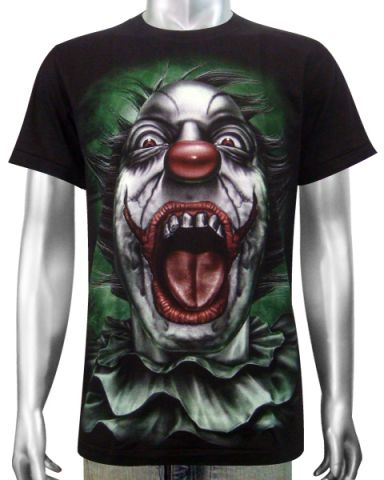 Clown Joker T-shirt: click to enlarge