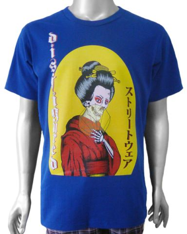 Disfigured Geisha Mens T-shirt: click to enlarge