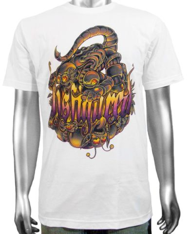 Disfigured Scorpion Mens T-shirt: click to enlarge