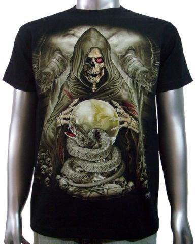 Reaper Cobra Snake T-shirt: click to enlarge