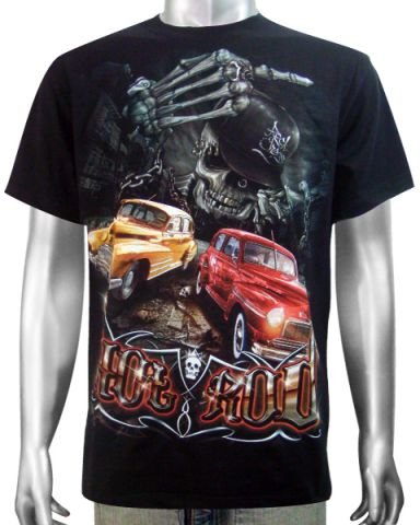 Hot Rod American Car T-shirt: click to enlarge