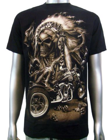 Indian Chief Custom Trike T-shirt: click to enlarge
