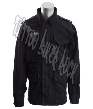 Molecule Mens Black Combat Jacket: click to enlarge