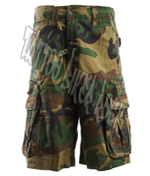 Molecule Mens Camo Combat Shorts: click to enlarge