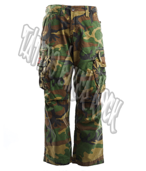 Molecule Mens Camo Combat Trousers: click to enlarge