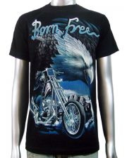 Born Free Eagle Chopper T-shirt