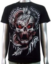 Dragon Vampire Skull T-shirt