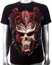 Chinese Dragon Skull T-shirt