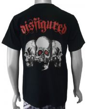 Disfigured 3 Skull Mens T-shirt