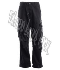 Molecule Mens Black Combat Trousers