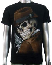 Skeleton Dick Tracy T-shirt