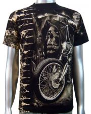 Reaper Chopper Biker T-shirt