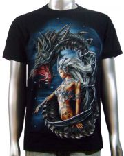 Dragon Sexy Tattoo Girl T-shirt