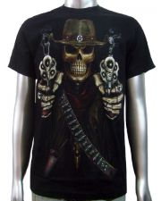 Sheriff Pointing Guns T-shirt