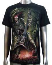Skeleton Guitar Player T-shirt