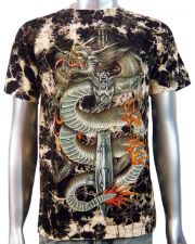 Chinese Dragon Dagger T-shirt
